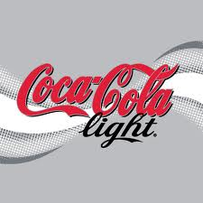 Coca cola light fles 1,00 ltr
